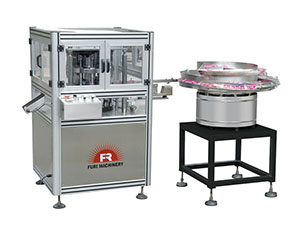 Flip top cap closing machine